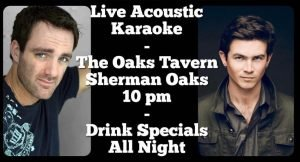 Live Band Acoustic Karaoke Every Tuesday with Apple Jacks @ The Oaks Tavern | Los Angeles | California | United States